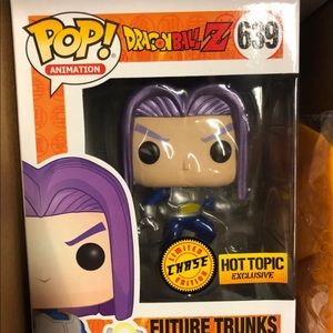 Funko Pop Future Trunks Chase Hot Topic